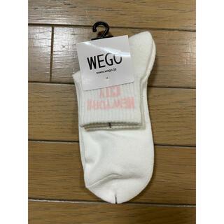 ウィゴー(WEGO)のwego ウィゴー 靴下(ソックス)