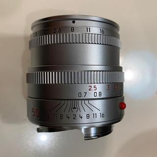 LEICA - Leica summicron 50mm F2 4th 現行品