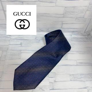 Gucci - 美品 GUCCI ネクタイ G総柄 紺色