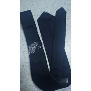 ディオールオム(DIOR HOMME)のDIOR × RAYMOND PETTIBON ジャガー刺繍ネクタイ(ネクタイ)