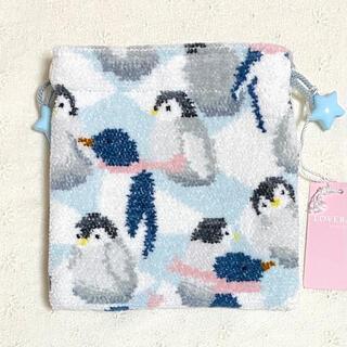 FEILER - フェイラー ミニ巾着 ペンギンアイランド