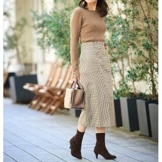 le.coeur blanc - 美品  ルクールブラン  ハイウエスト ポケット タイトスカート
