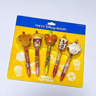 Disney - ♡ ディズニー パークフード ボールペン 新品未使用 5本セット ♡