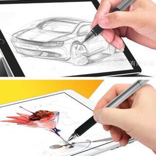 (ブラック) タッチペン 絵画ペン(タブレット)