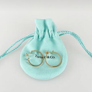 ティファニー(Tiffany & Co.)のティファニー T フープピアス(ピアス)
