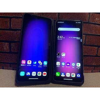 LG Electronics - [SIMフリー] LG V60 ThinQ 5G クラッシーブルー