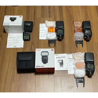 Canon - 【Canon Speedlite 600EX-RT】×3 【ST-E3-RT】