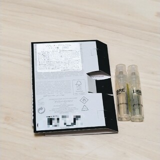 イヴサンローランボーテ(Yves Saint Laurent Beaute)のysl リブレ オーデパルファム 1.2ml(香水(女性用))