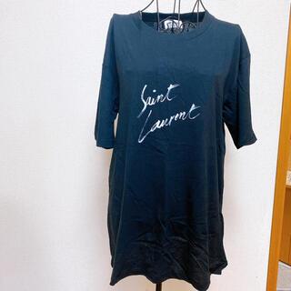Saint Laurent - 新品未使用 サンローラン オーバーサイズロゴTシャツ