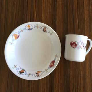 CORELLE - ディズニー プリンセス マグカップ カレー皿 セット コレール