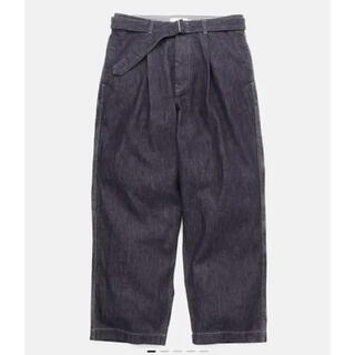 COMOLI - Graphpaper Colorfast Denim Belted Pants