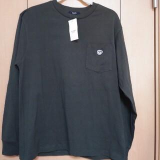 ビームス(BEAMS)のBEAMS HEART ロンT サイズL オリーブ(Tシャツ/カットソー(七分/長袖))