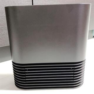 プラスマイナスゼロ(±0)のプラスマイナスゼロ セラミックファンヒーター  ブラウン(電気ヒーター)