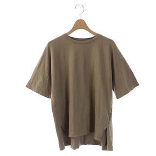 セオリー(theory)のセオリー 20SS Tシャツ カットソー 半袖 S 茶 モカ(Tシャツ(半袖/袖なし))