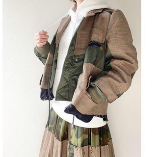 sacai - レア入手困難!sacaiサカイ コレクションラインジャケット 未使用