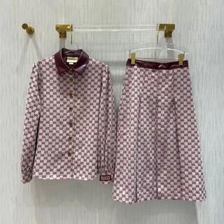 グッチ(Gucci)の【100周年記念】GUCCI グッチ ◇ GGファブリック スカート(ロングスカート)