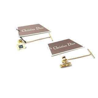 クリスチャンディオール(Christian Dior)のChristian Dior ディオール 美品 タイピン2点セット ゴールド(ネクタイピン)