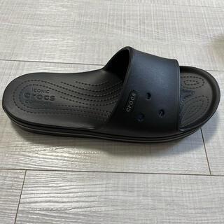 crocs - クロックス サンダル 黒 28cm Crocband III Slide