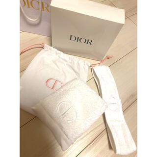 Dior - Dior  ポーチ タオル ターバンセット
