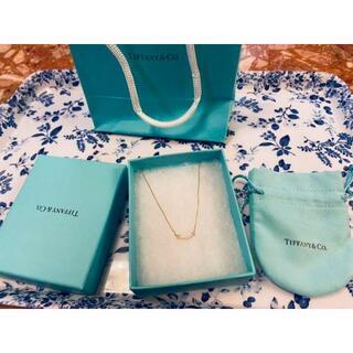 ティファニー(Tiffany & Co.)のTiffany ティファニースマイル (ミニ)ペンダントネックレス(ネックレス)