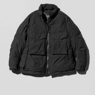 ダイワ(DAIWA)のdaiwa pier39 padding mil jacket black L(ダウンジャケット)
