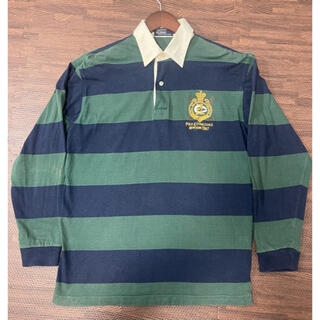 ポロラルフローレン(POLO RALPH LAUREN)のポロラルフローレン POLO RALPH LAUREN ラガーシャツ ポロシャツ(Tシャツ/カットソー(七分/長袖))