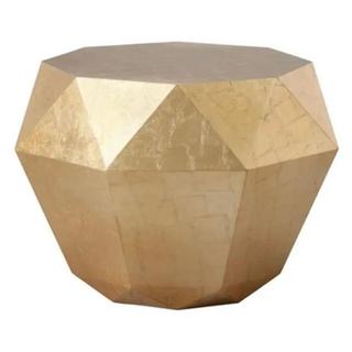 Francfranc - フランフラン ダイアモンドテーブル ゴールド
