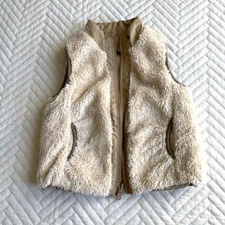 ムジルシリョウヒン(MUJI (無印良品))の無印良品*ボアベスト*リバーシブル(ジャケット/上着)