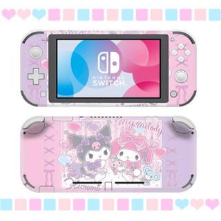 Nintendo Switch - 〖新品〗マイメロ&クロミ 任天堂SwitchLite 保護スキンシール