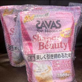 SAVAS - 【新品未開封】ザバス フォーウーマン シェイプ&ビューティ 945g 3袋セット