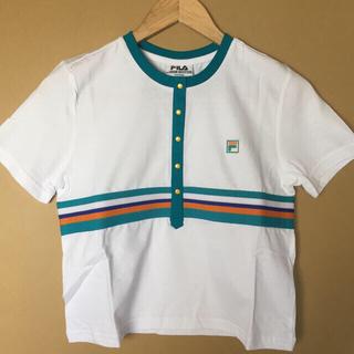 フィラ(FILA)の新品 FILA クロップド Tシャツ(Tシャツ(半袖/袖なし))