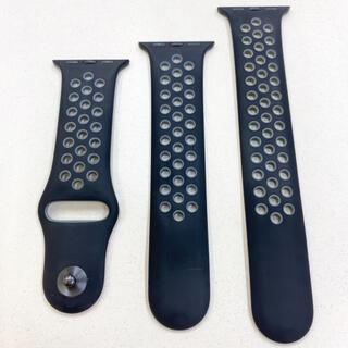 アップルウォッチ(Apple Watch)のナイキ スポーツバンド Apple Watch 38,40mm アップルウォッチ(ラバーベルト)
