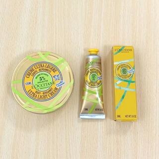 ロクシタン(L'OCCITANE)のロクシタン 限定品アールグレイ ハンドクリーム 紅茶のシアボディクリームセット(ボディクリーム)