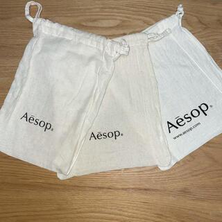 イソップ(Aesop)のAesop 巾着 ショッピングバッグ(ショップ袋)