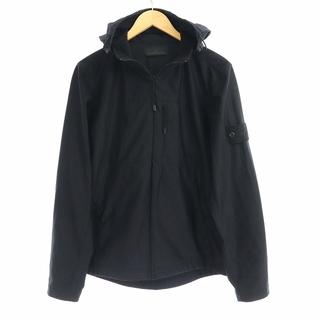 ストーンアイランド(STONE ISLAND)のストーンアイランド ジャケット マウンテンパーカー ジップアップ M 黒(マウンテンパーカー)