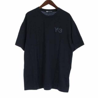 Y-3 - ワイスリー ヨウジヤマモト アディダス ロゴTシャツ カットソー 半袖 XL 黒