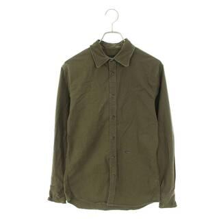 ディースクエアード(DSQUARED2)のディースクエアード プレート装飾コットン長袖シャツ 44(シャツ)
