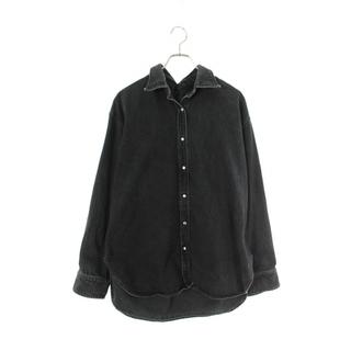 バレンシアガ(Balenciaga)のバレンシアガ ピンチドカラーデニム長袖シャツ 38(シャツ)