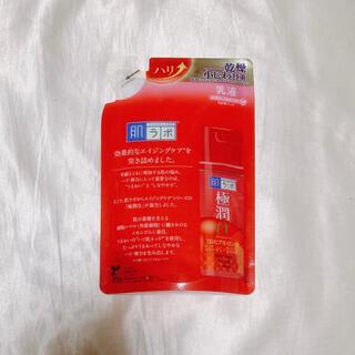 ロート製薬 - 肌ラボ 極潤α エイジングケア ハリ 保湿乳液 詰め替え 140ml