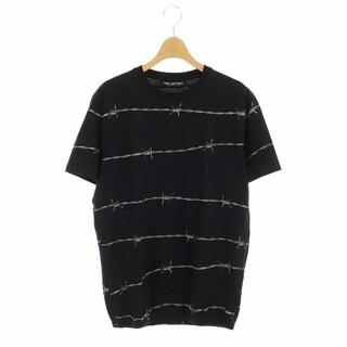 ニールバレット(NEIL BARRETT)のニールバレット オールオーバーバーブドワイヤージャージーブルゾンTシャツ(Tシャツ/カットソー(半袖/袖なし))