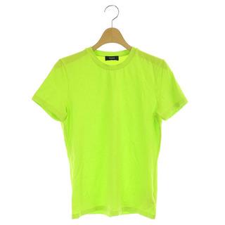 セオリー(theory)のセオリー Rubric Tiny Tee Tシャツ カットソー 半袖 2 黄緑(Tシャツ(半袖/袖なし))