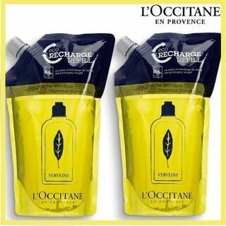 ロクシタン(L'OCCITANE)のロクシタン ヴァーベナ シャワージェル 500ml×2 レフィル リフィル(ボディソープ/石鹸)
