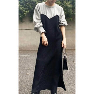 Ameri VINTAGE - ameri vintage アメリ SWEAT KNIT DRESS