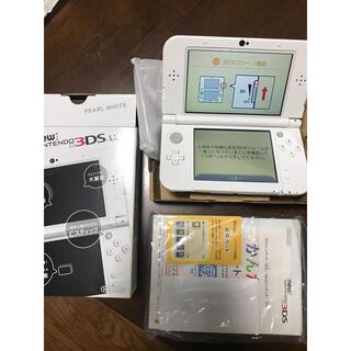ニンテンドー3DS - 美品 Nintendo 3DS NEW ニンテンドー 本体 LL パールホワイト