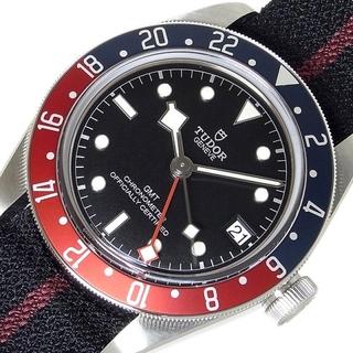 チュードル(Tudor)のチュードル TUDOR ブラックベイGMT 腕時計 メンズ【中古】(腕時計(アナログ))