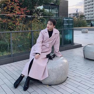 リエンダ(rienda)のELENORE エレノア Wool light tailoring coat(ロングコート)