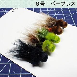 フェザージグ5本セット No.8(ルアー用品)