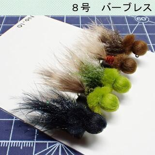 フェザージグ5本セット No.10(ルアー用品)