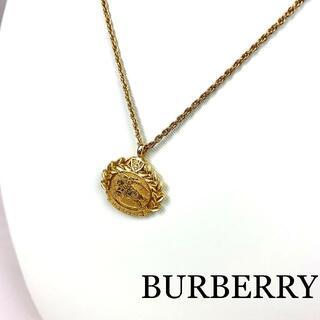 バーバリー(BURBERRY)のBURBERRY VINTAGE ロゴ トップ ネックレス(ネックレス)