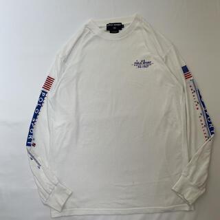 ポロラルフローレン(POLO RALPH LAUREN)の90s 古着 RalphLauren POLO SPORT ロンT 長袖tシャツ(Tシャツ/カットソー(七分/長袖))